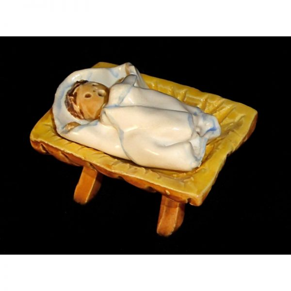 Baby Jesus in Separate Cradle – 2 pieces